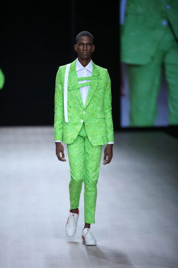 Redefining Menswear! Tokyo James New Collection At ARISE Fashion Week 2019 9