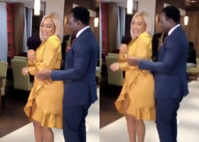 Love Is In The Air! Tonto Dikeh Goes On A Romantic Dinner Date With Daniel Amokachi 2