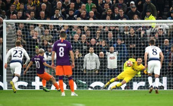 UCL: Tottenham Hotspur 1 Manchester City 0; Son Gives Spurs Advantage 1