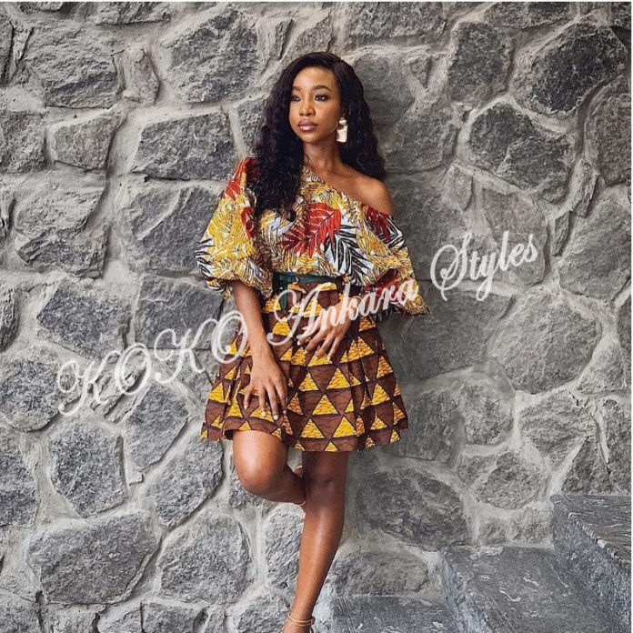 Five Modern Designs That Prove Mix n' Match Ankara Styles Are Still As Gorgeous As Ever 4