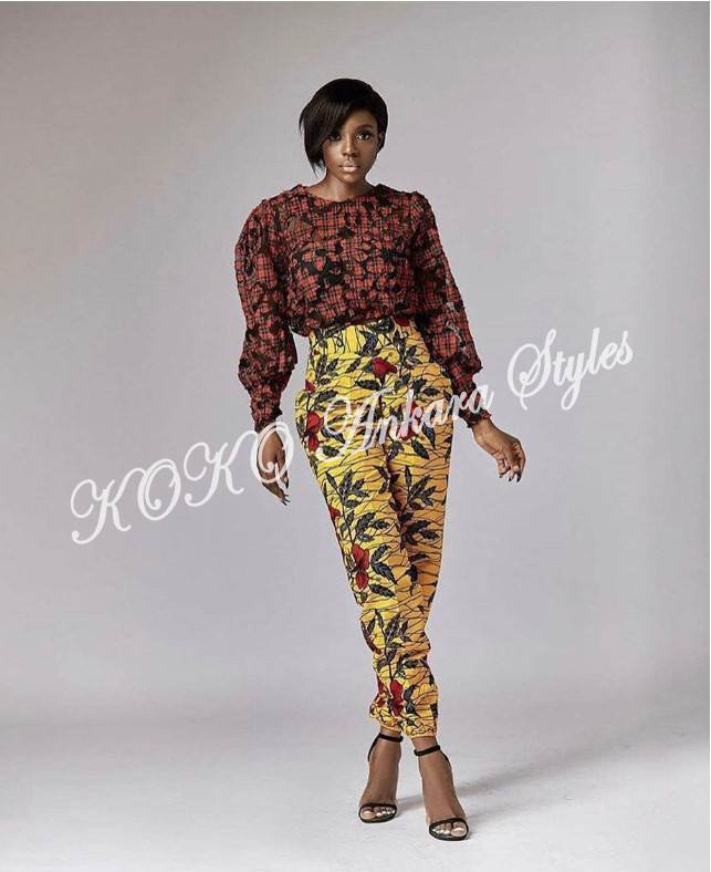 Five Modern Designs That Prove Mix n' Match Ankara Styles Are Still As Gorgeous As Ever 3