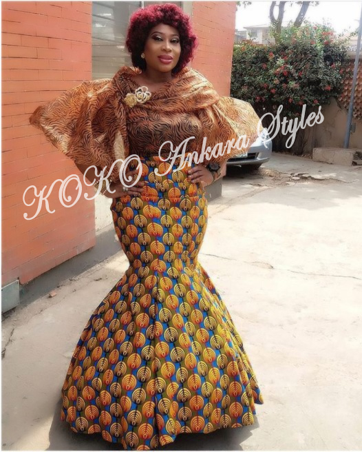 Ten Stunning Ankara Styles That Are Perfect For The Gorgeous Plus-size Lady 3