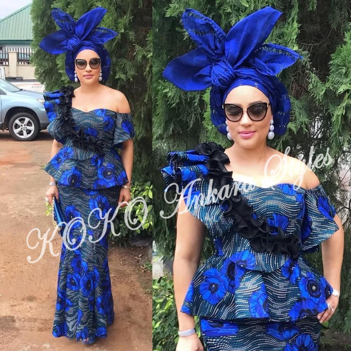 These Five Stunning Ankara Styles Prove Ruffles Are Still As Gorgeous As Ever 4