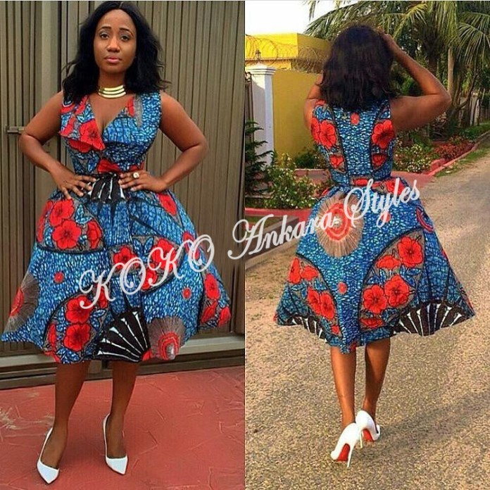 Ten Ankara Styles That Proves That Skater Dresses Are Still As Cool As Ever 3