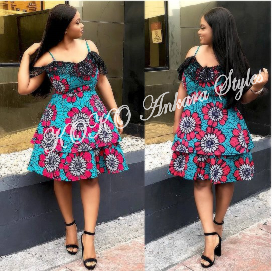10 Extra Chic Ankara Styles That Would Have All Heads Turning At Your Slay 1