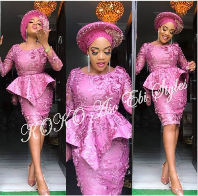 Unconventional And Chic: Five Aso-ebi Styles That Will Blow Your Mind Away! 3