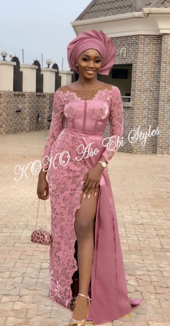 Five Latest Aso-ebi Styles We Absolutely Love And Will Look Great On You 4
