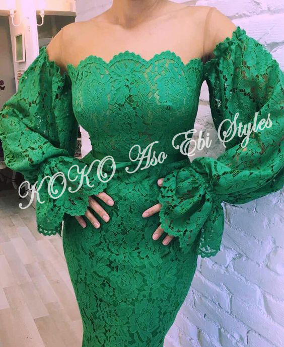 These Five Aso-ebi Styles Showcases The Eccentric Beauty Of Mermaid Gowns 3