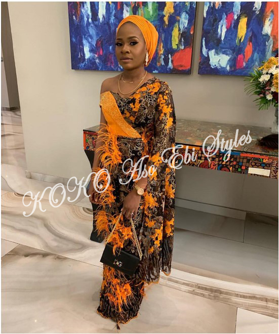 These Five Aso-ebi Styles Came With All The Gorgeous Owanbe Sauce 2