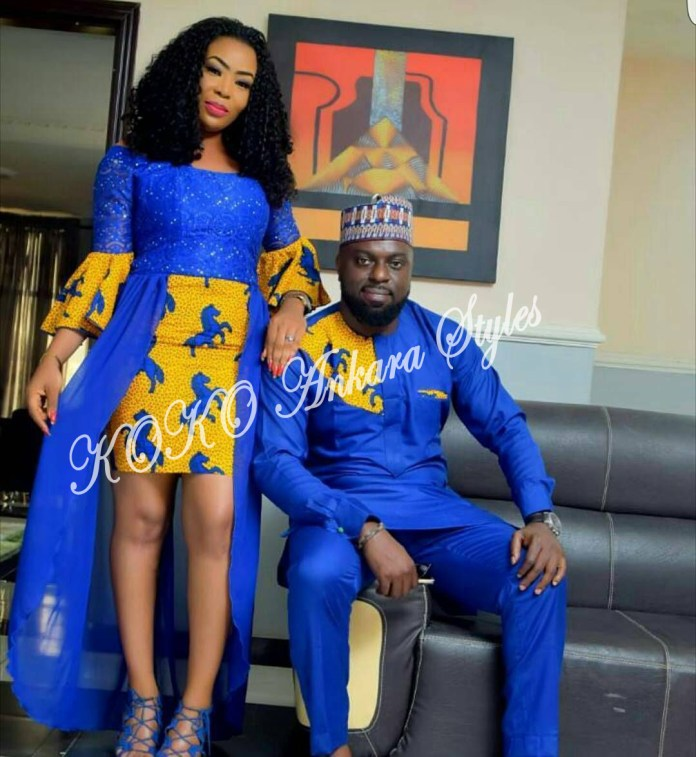 Couple It Up In These 10 Extremely Gorgeous Co-ordinating Ankara Styles 7