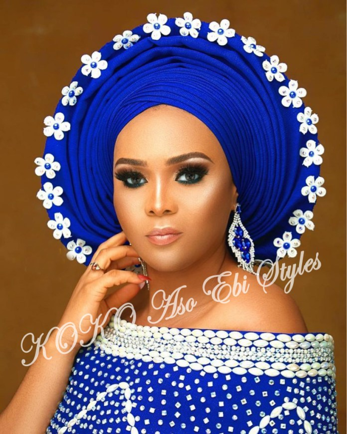 #Onigele! Check Out These Ten Flamboyant And Stunning Gele Styles For Your Next Owanbe 1