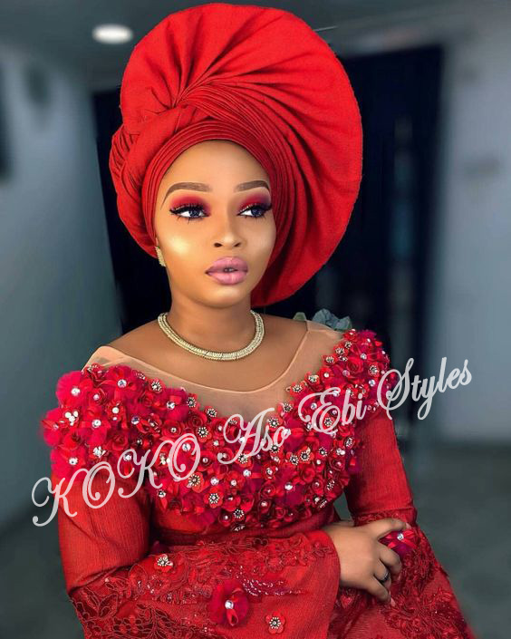 #Onigele! Check Out These Ten Flamboyant And Stunning Gele Styles For Your Next Owanbe 4