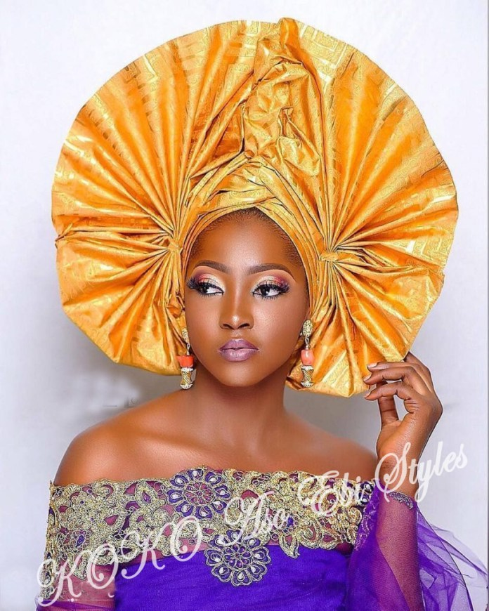 #Onigele! Check Out These Ten Flamboyant And Stunning Gele Styles For Your Next Owanbe 2
