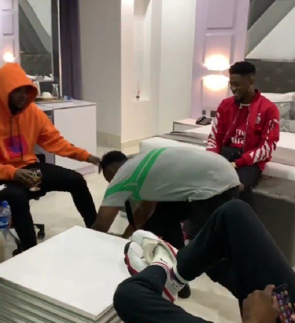 All Is Well! Demmie Vee Postrates For Kizz Daniel As They Reconcile Their Differences 3
