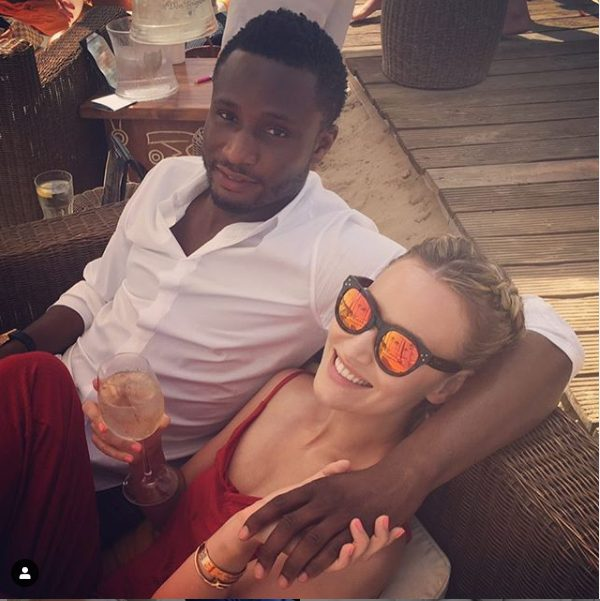 So Sweet! Mikel Obi's Baby Mama, Olga Diyachenko Serenades Him With Sweet Words On His 32nd Birthday 2