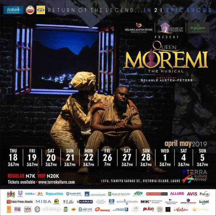 Return Of The Legend- Queen Moremi The Musical Is Back With A Bang! 2