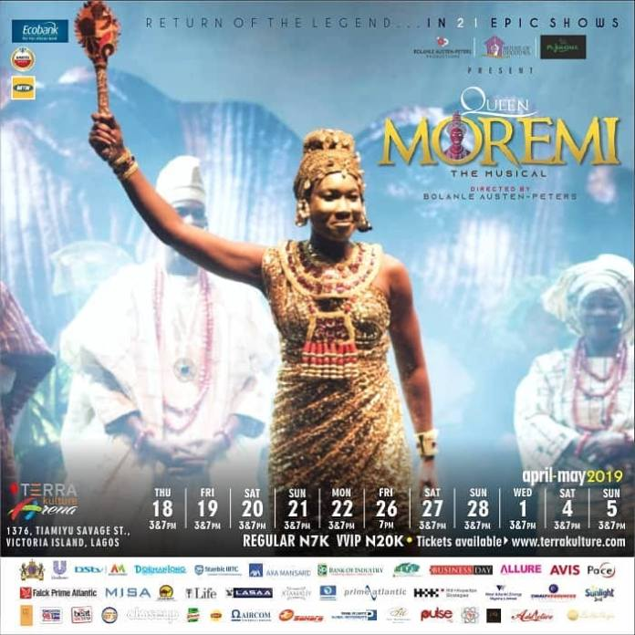 Return Of The Legend- Queen Moremi The Musical Is Back With A Bang! 3