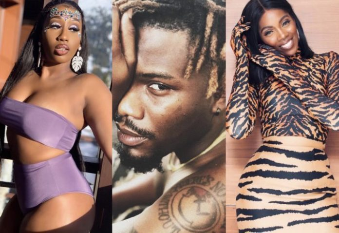 Tiwa Savage Doesn't Like Performing In The Same Show With Other Female Artistes - Victoria Kimani 2