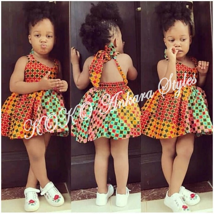 Kiddies Special: Ten Absolutely Adorable Ankara Styles Your Kids Will Look Amazing In! 6