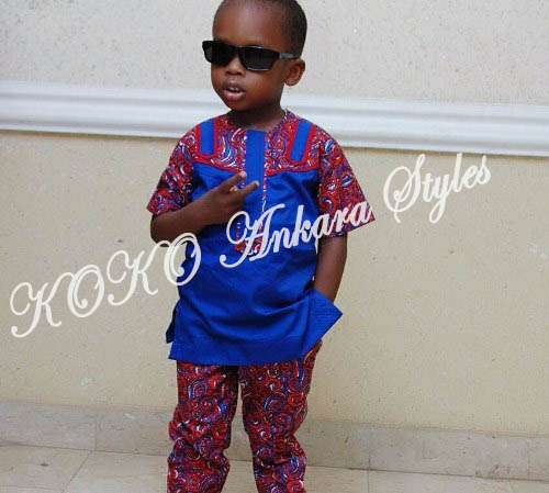 Kiddies Special: Ten Absolutely Adorable Ankara Styles Your Kids Will Look Amazing In! 5