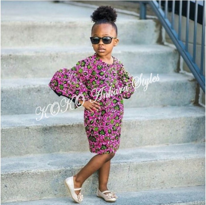 Kiddies Special: Ten Absolutely Adorable Ankara Styles Your Kids Will Look Amazing In! 3