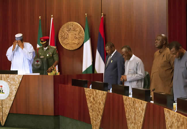 Insider: Exclusive Photos Of Buhari, Osinbajo, Others At The Weekly FEC Meeting 7