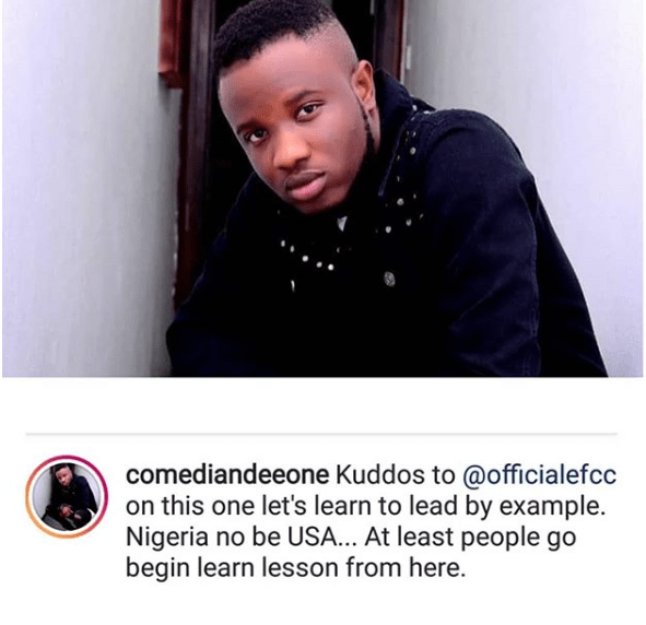 'Nigeria No Be USA' - Deeone Applauds EFCC For Arresting Naira Marley 2