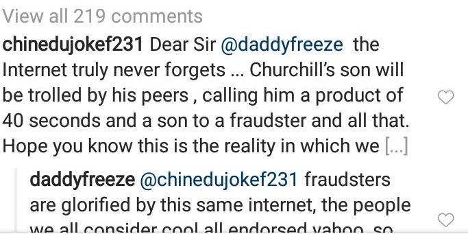 Daddy Freeze Defends Tonto Dikeh Says Her Son Won't Be Affected By Her Interview 5