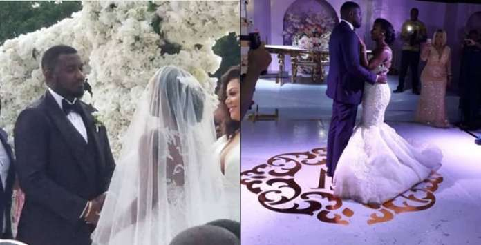 The Insider: Stunning Photos From John Dumelo And Gifty Nkornu's White Wedding 1