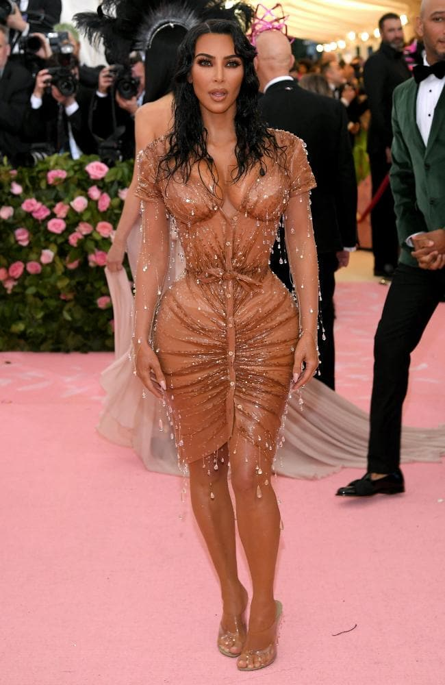 Nipples?! Kim Kardashian Just Revealed Why Kanye Did Not Approve Of Her 2019 Met Gala Dress 2