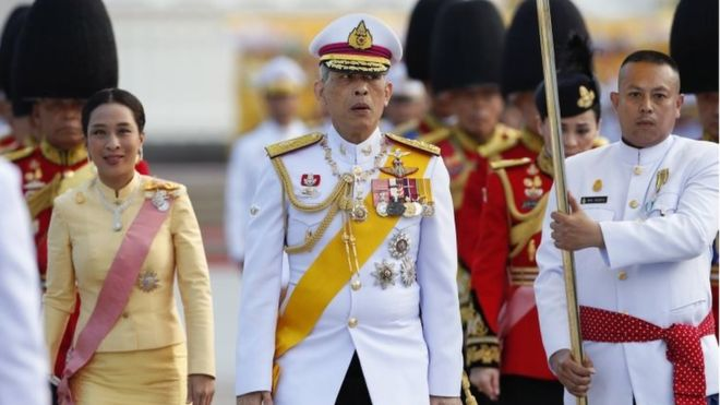 Thailand's King Maha Vajiralongkorn Crowned 1