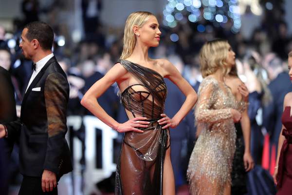 Not Again! Model Meredith Mickelson Bares All As She Suffers Another Wardrobe Malfunction At Cannes 2019 1