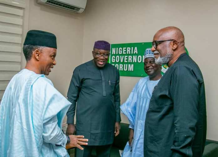 Photos: Kayode Fayemi Elected Nigeria's Governor's Forum Chairman {NGF} 3