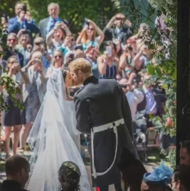 Prince Harry and Meghan Markle Mark First Anniversary With Stunning Behind The Wedding Photos 2