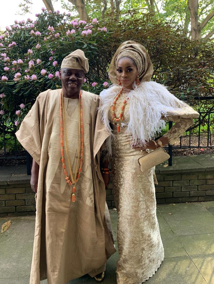 Billionaire Couple Rasaq And Shade Okoya Attends Queen Of England's Garden Party At Buckingham Palace 4