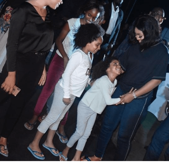 Cute Couple! Regina Daniels Spotted With Her Husband, Ned Nwoko And His Kids 4