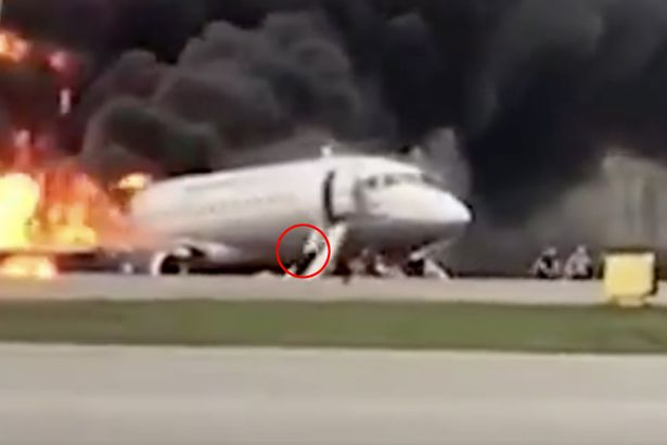 Russia Plane Fire: One Dead And Ten Injured After Fire Breaks Out Onboard Aeroflot Sukhoi Superjet Passenger Aircraft 2