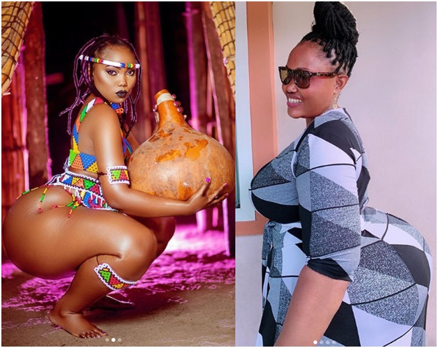 Mum's The Word! Curvy Sanchoka Sends Social Media Into Meltdown By Sharing Photos of Her Mother 2