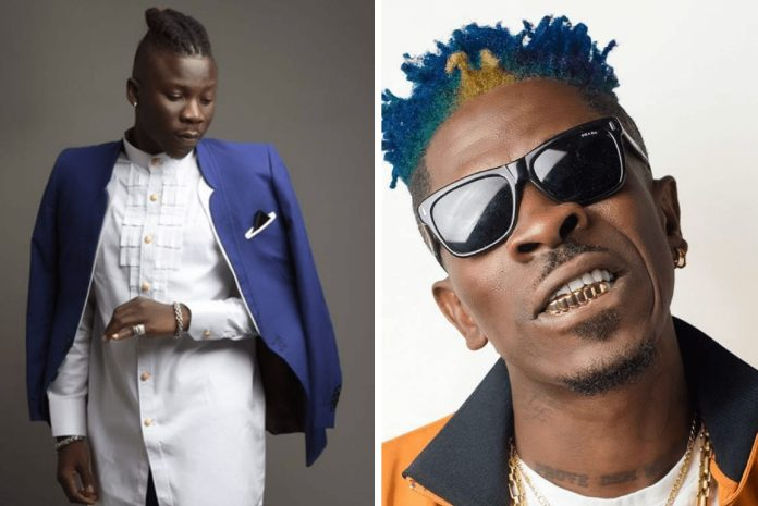 Police Arrests Stonebwoy After Pulling A Gun At Shatta Wale At VGMA 1