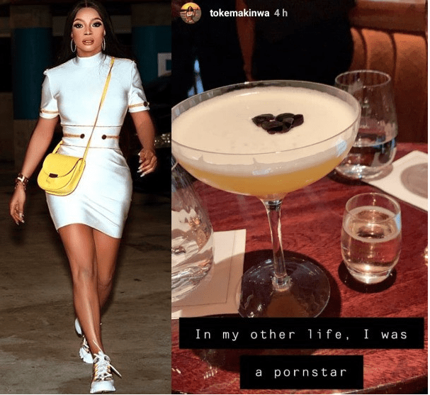In My Other Life, I was a pornstar- Toke Makinwa 1