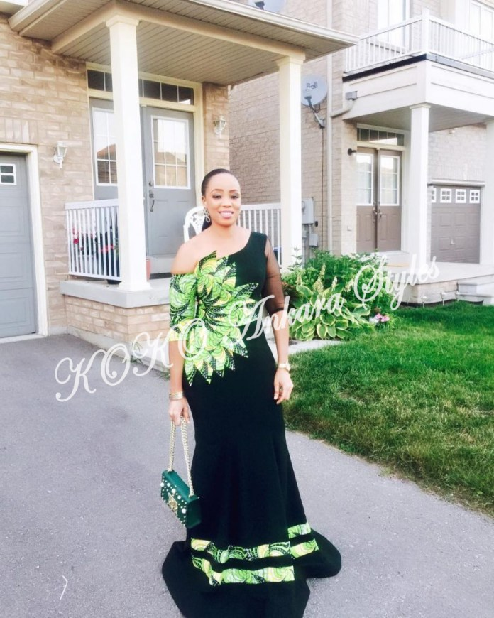 Five Ankara Styles With Beautiful Patches That You Will Definitely Slay In 1