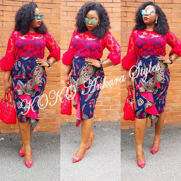 Weekday Glam! Five Ankara Styles You Can Rock To Work 2
