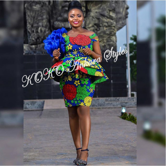 Vamp Up Your Print Slay In Five Trendy And Chic Ankara Styles 1