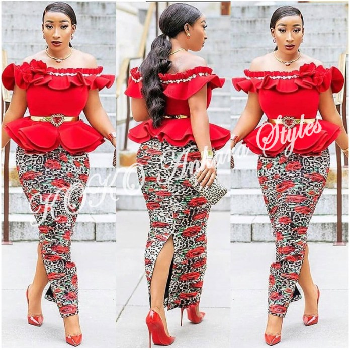 Be The Cynosure Of All Eyes In These Five Printastic Ankara Styles 3