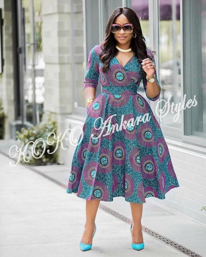 Slay Beautifully In These Five Fantastic Ankara Styles 2