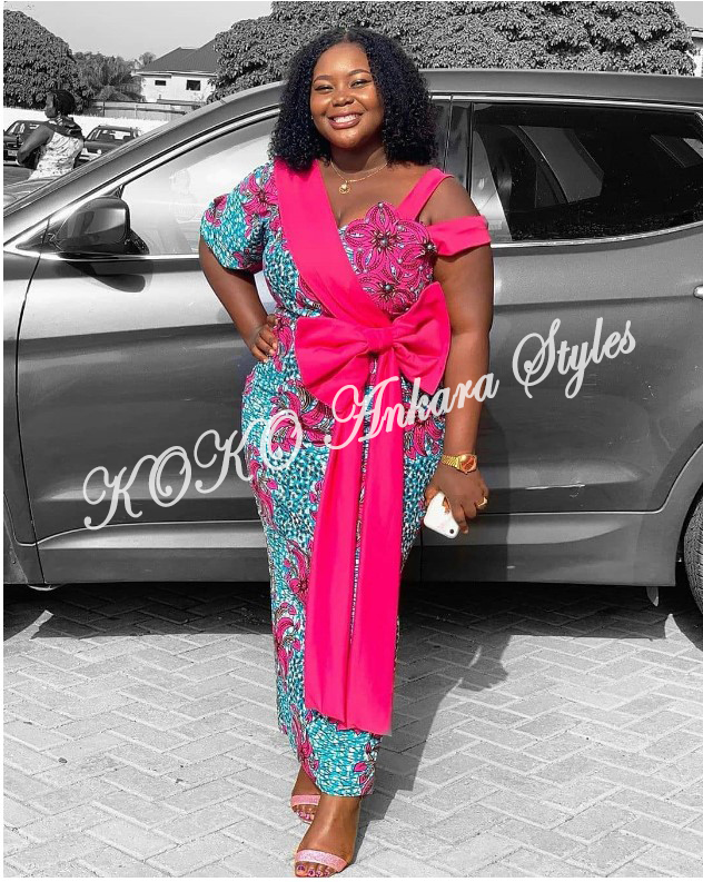 Be The Cynosure Of All Eyes In These Five Printastic Ankara Styles 1
