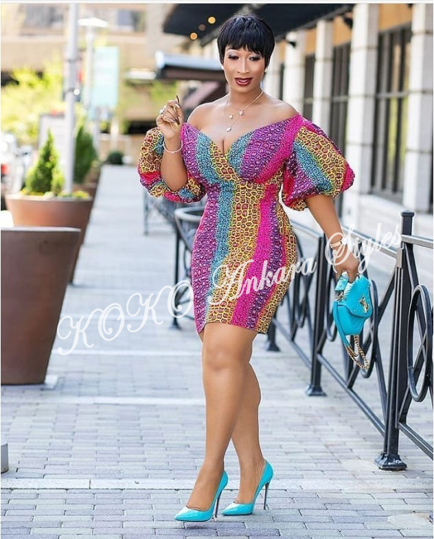 Be The Cynosure Of All Eyes In These Five Extremely Gorgeous Ankara Styles 1