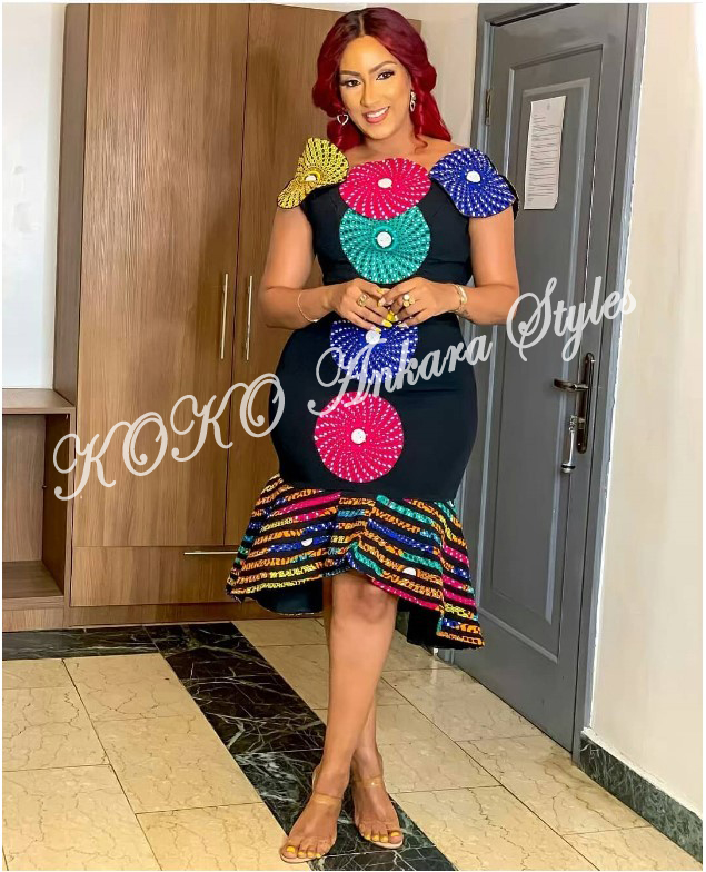 Be The Cynosure Of All Eyes In These Five Extremely Gorgeous Ankara Styles 5