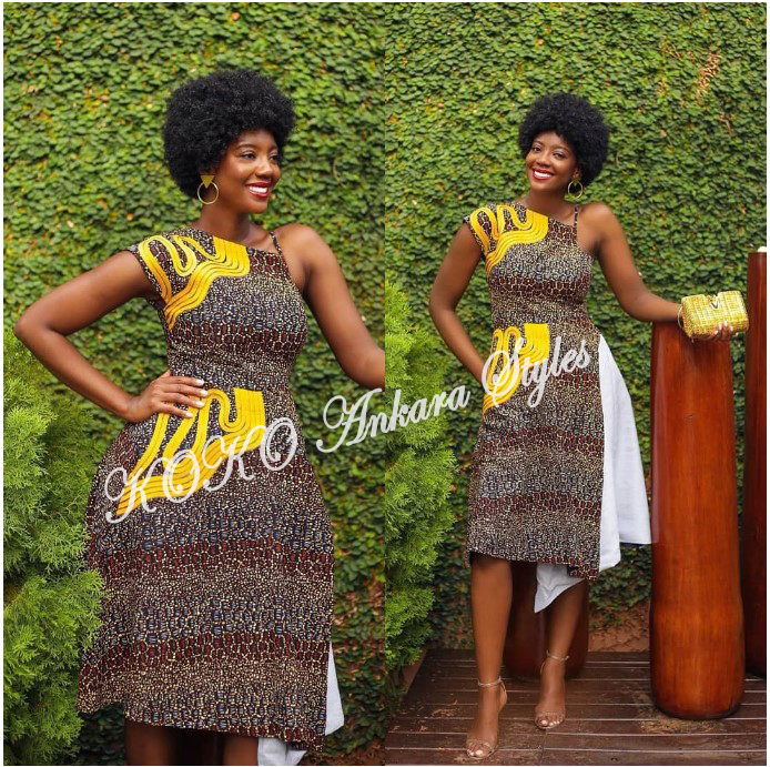Vamp Up Your Print Slay In Five Trendy And Chic Ankara Styles 4