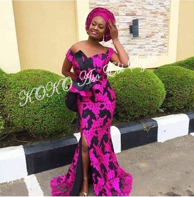 Five Aso-ebi Styles That Guarantee The Beautiful Slay You Have Been Looking For 5